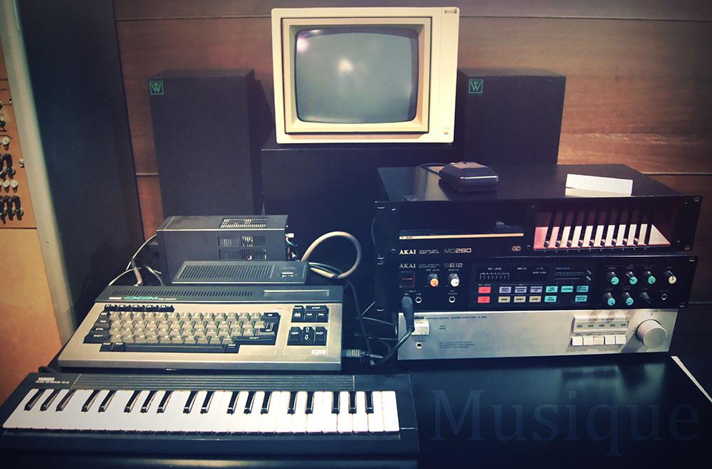 Yamaha CX5M : un home studio fait pour les pros !